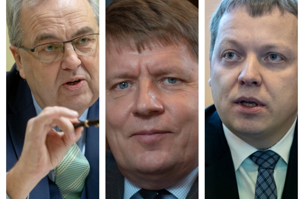 Väino Kaldoja, Toomas Luman ja Mait Palts.