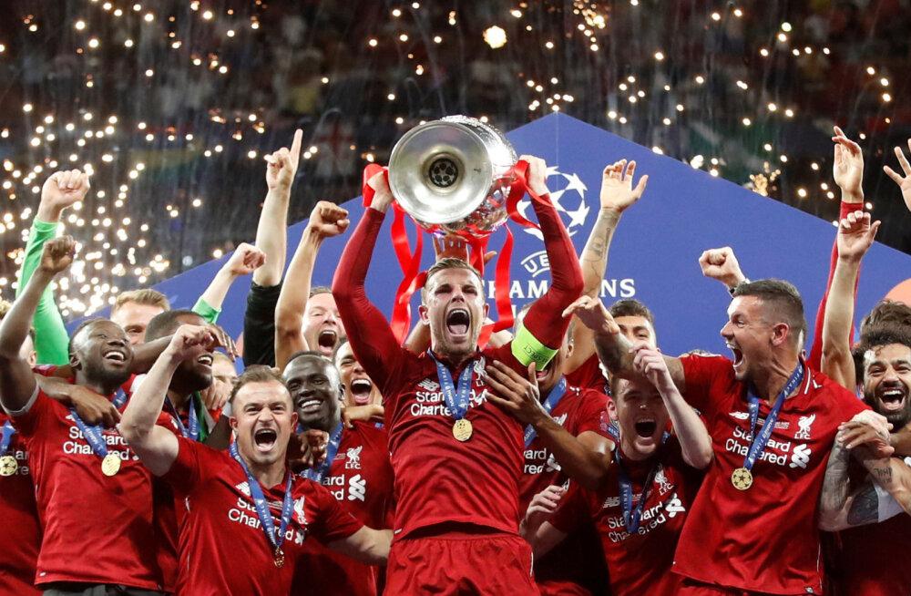 Liverpool Meistrite liiga võitjana