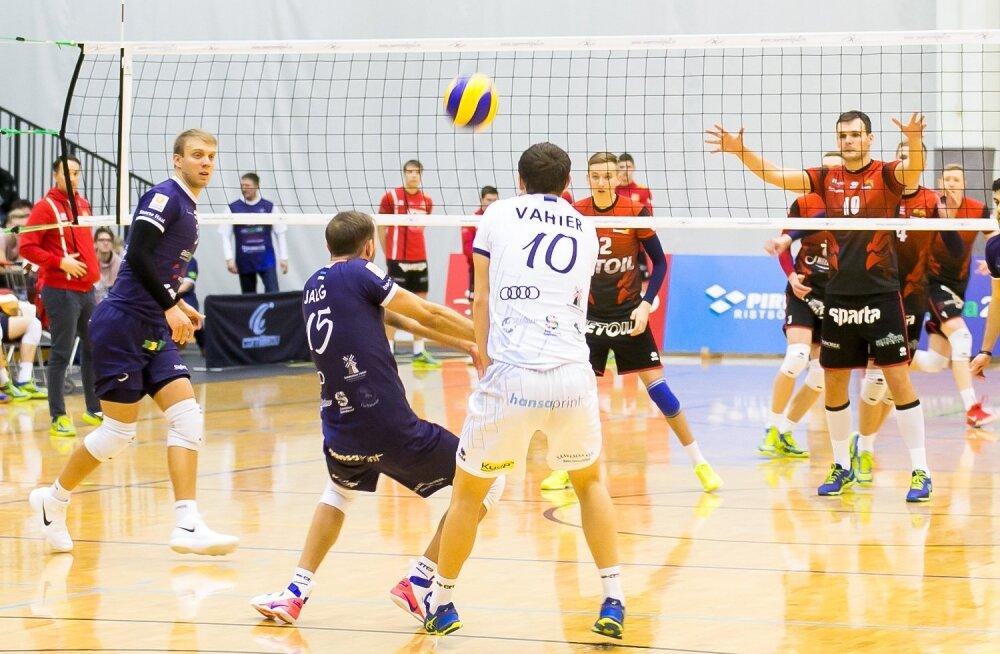 Saaremaa VK sai raske 3-2võidu Selver Tallinn VK üle