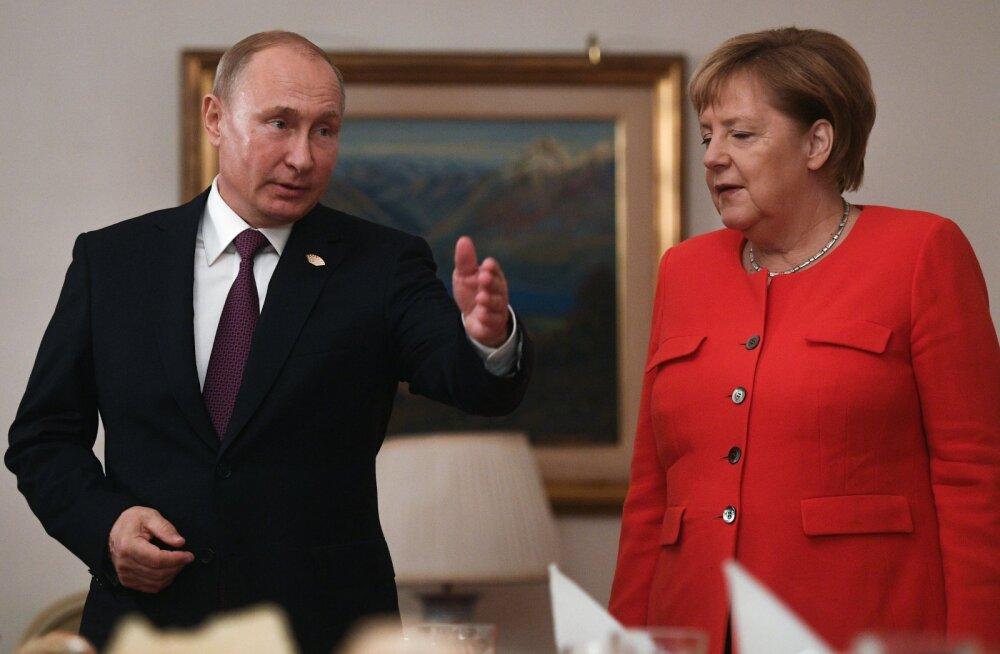 """Vladimir Putin kirjeldas G20 kohtumisel kätega vehkides ukrainlaste """"provokatsiooni"""""""