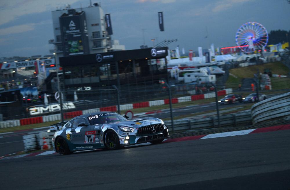 Eesti autosportlane maailma raskeimal 24-tunni sõidul taas võidukas