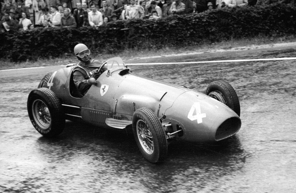 Vormel 1 MM aastal 1952: seekord polnud Alberto Ascari Ferrarile midagi vastu panna