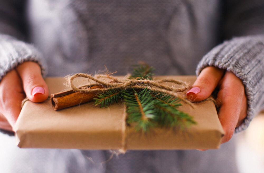 Nipid, kuidas veeta saabuvad jõulud keskkonnasõbralikumalt