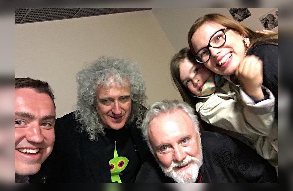 Queeni legend Brian May oli kohtumisest Taavi Rõivasega liigutatud: tore mees!