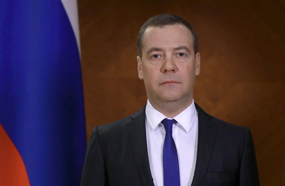 Venemaa Julgeolekunõukogu asejuht Medvedev nimetas koroonaviirust äärmiselt tõsiseks asjaks