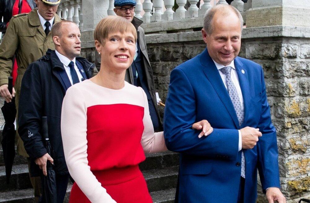 Presidendi vastuvõtt Roosiaias 20. august 2018