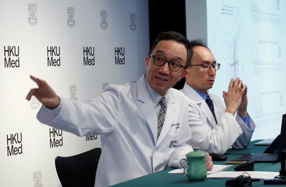 Hongkongi koroonaviiruse ekspert: nakatuda võib kaks kolmandikku inimestest