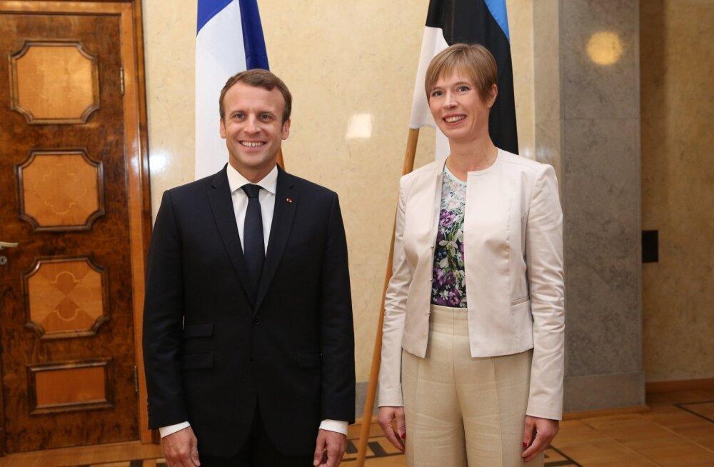 President Kaljulaid kohtub Prantsusmaa riigipeaga
