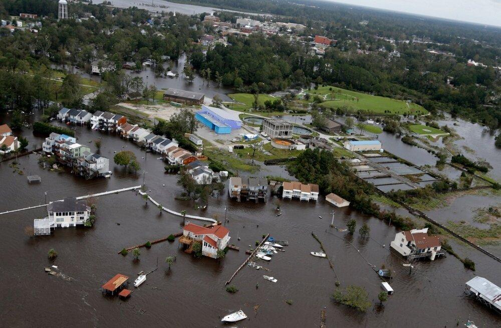Aerofoto Põhja-Carolinast Jacksonville'ist
