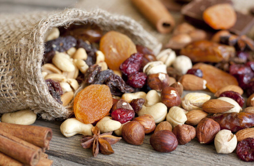 Tervislik vahepala: millised pähklid on kaalulangetajale parimad?