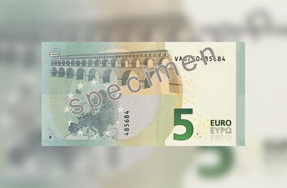 СМОТРИТЕ, как выглядит новая 5-евровая купюра