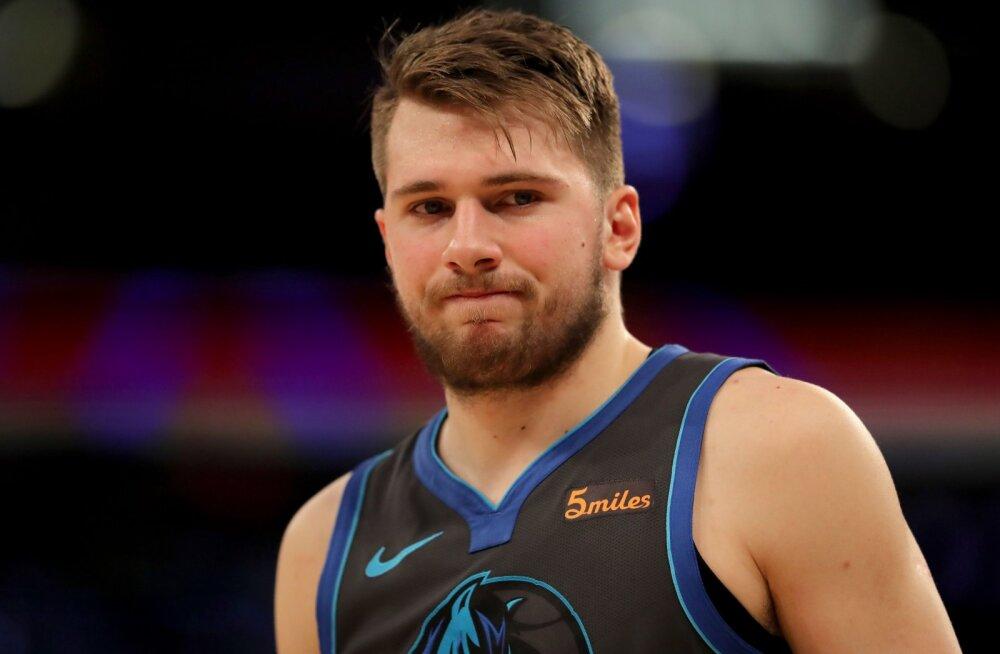 VIDEO | Timberwolves võitis sireeniviskest, Doncic debüteeris maailma kuulsaimal areenil ning tabas ühe käega kolmese