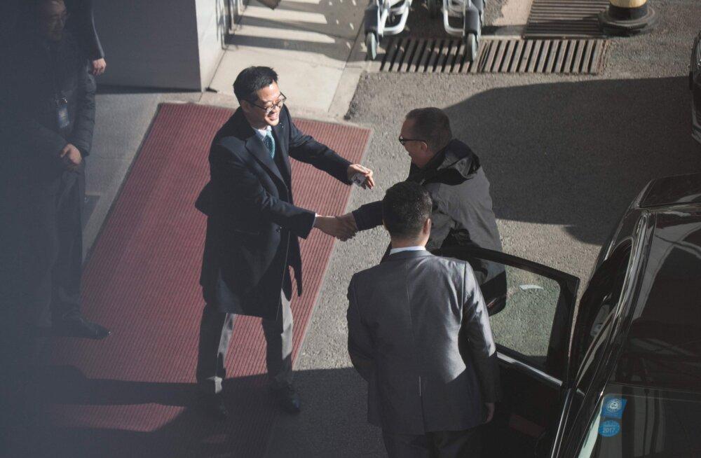 ÜRO ametnik väisas Põhja-Koread ja rõhutas ühenduse hoidmise tähtsust, leiti üksmeel