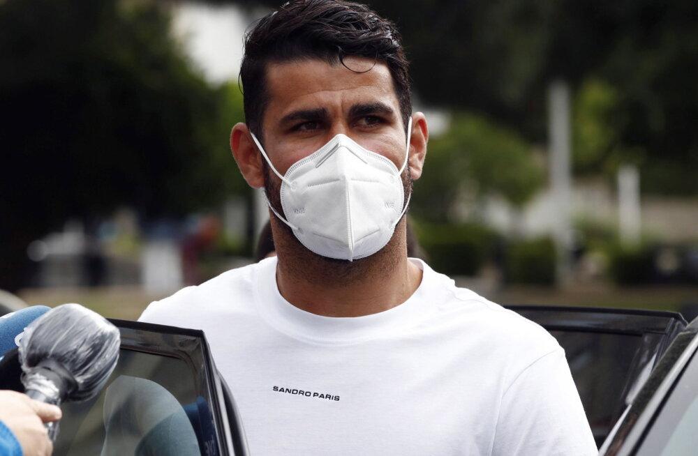 Diego Costa tasus Hispaania riigile suure trahvi vangimineku vältimiseks