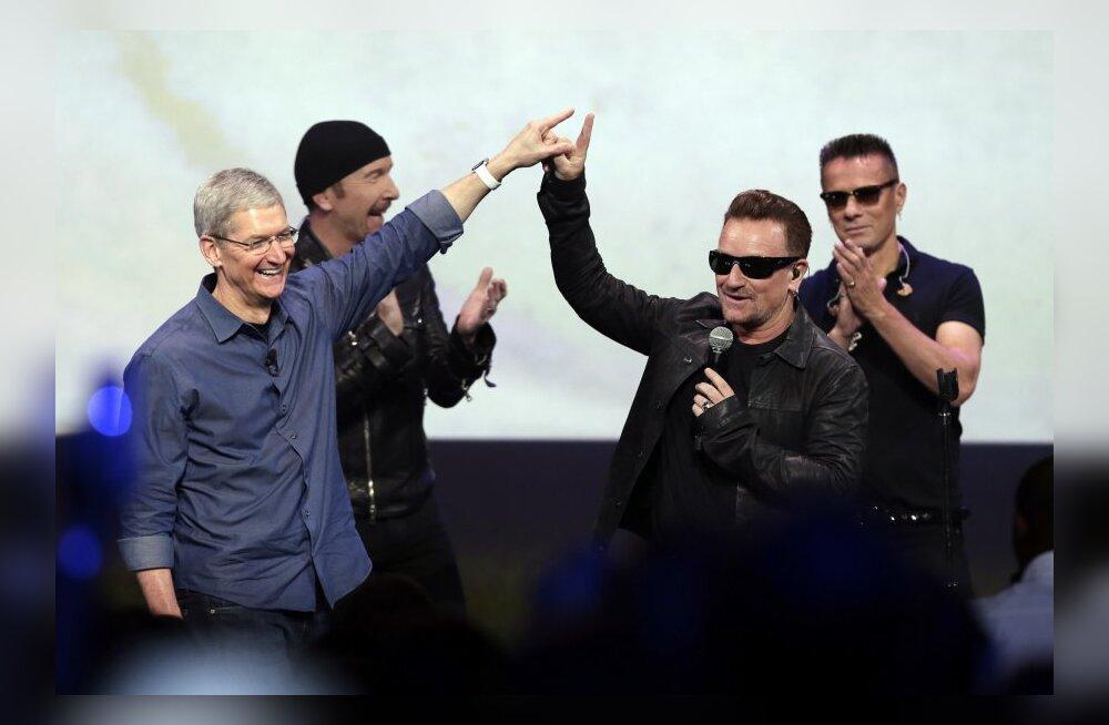 Külaline, kes ei lahku: U2 tasuta album vihastab iTunesi kasutajaid