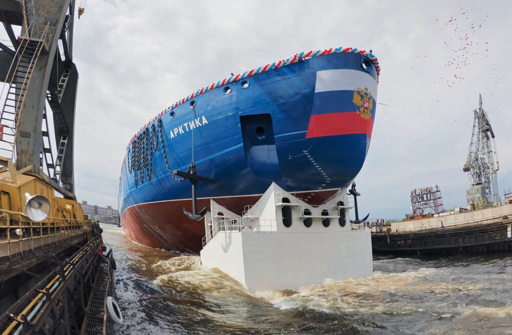 Venelased kaaluvad kahele uuele jäälõhkujale laserite paigaldamist