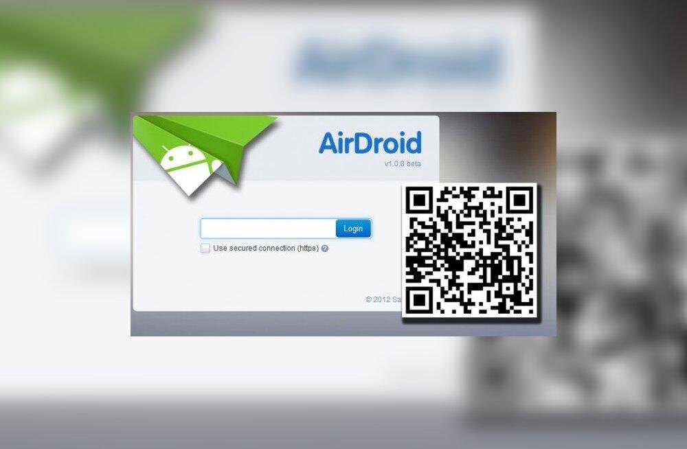 ÜLEVAADE: Androidi nutirakendus AirDroid