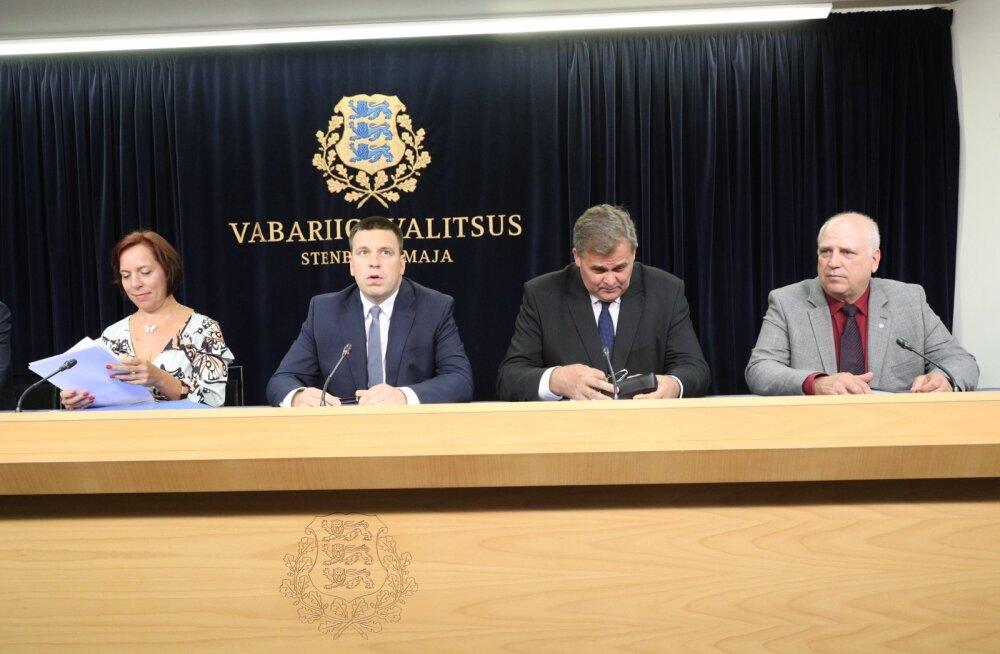 Valitsuse pressikonverents 11. juulil