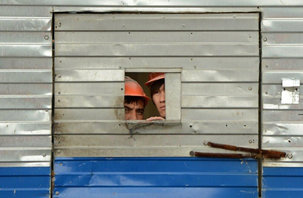 Moskva võõrtöölised