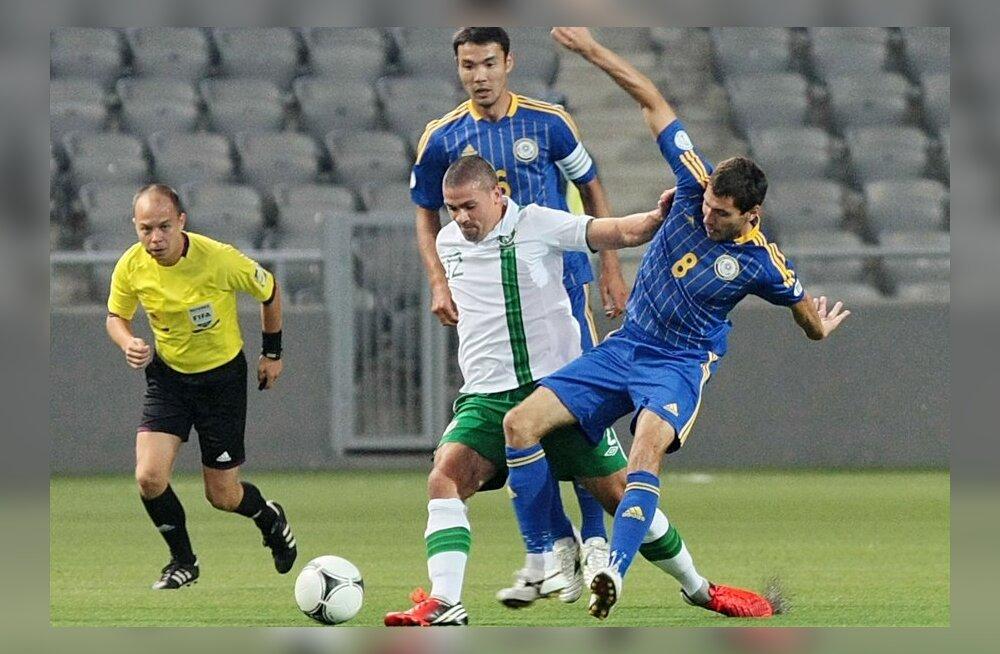 Kasahstan - Iirimaa MM-valikmäng, jalgpall