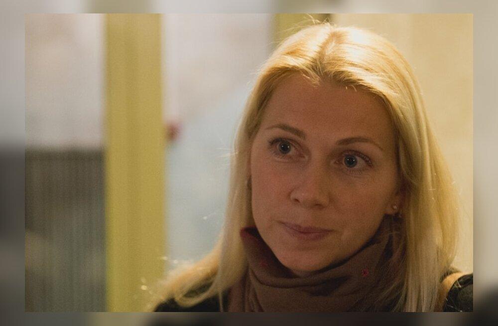 Kristina Šmigun-Vähi peale AK uudistesaadet