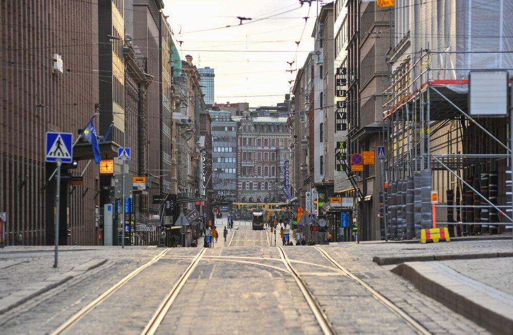 Helsingi koroonaviiruse ajal