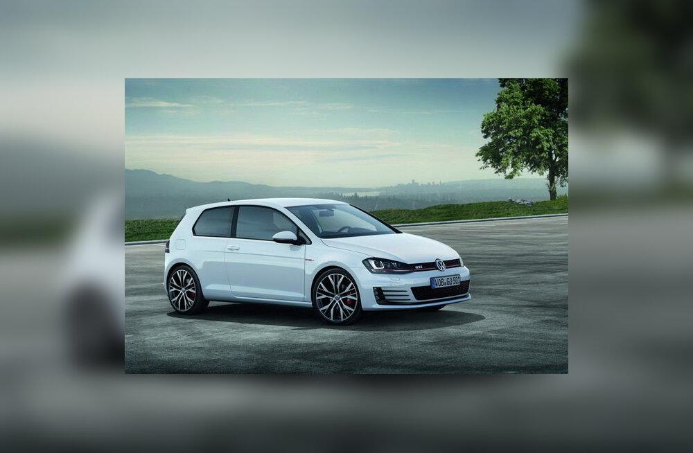 Volkswagen avaldas uue Golf GTI