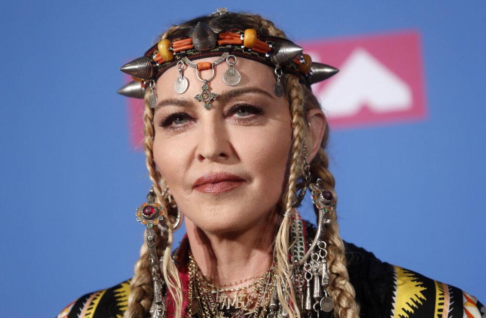 """Мадонна получит миллион долларов за выступление на """"Евровидении"""""""