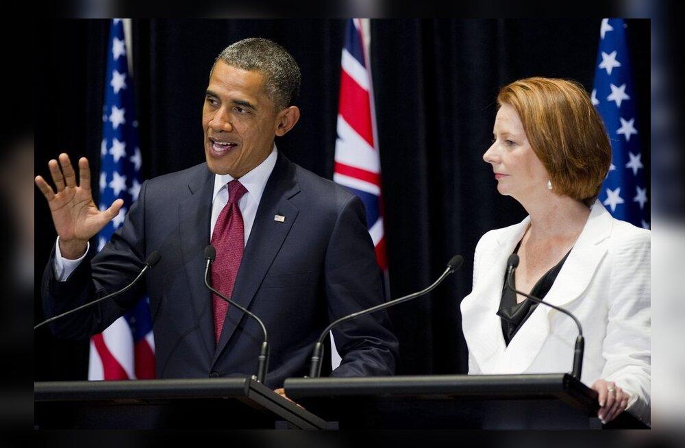 USA suurendab uue kokkuleppega sõjalist kohalolekut Austraalias