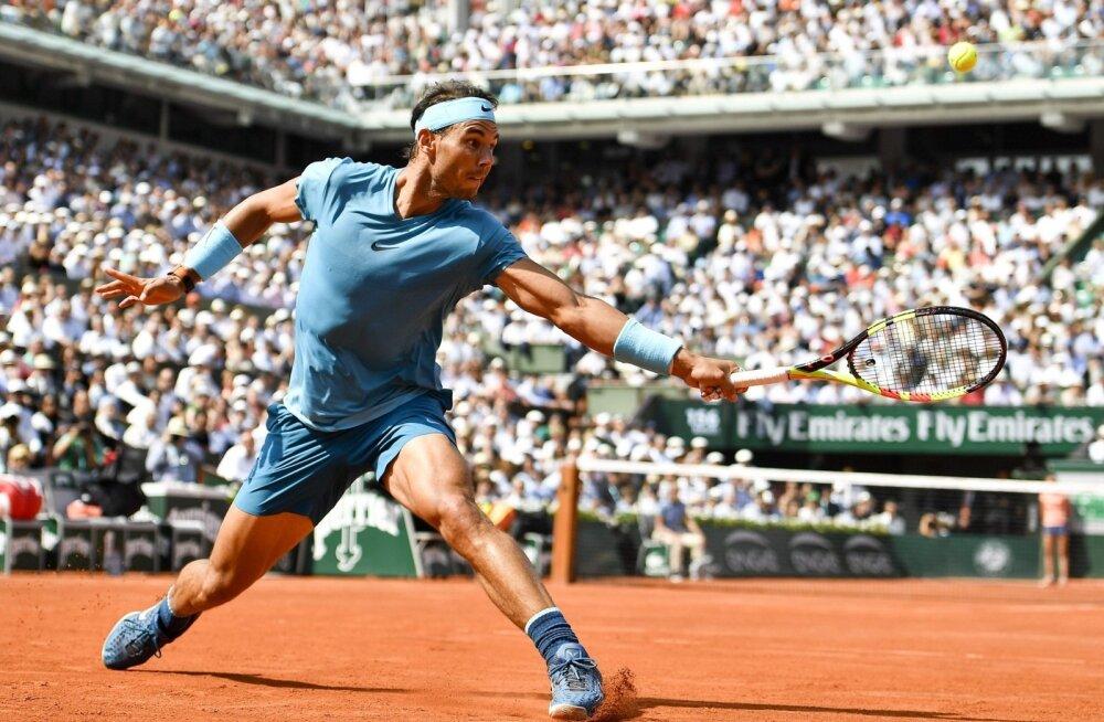 Tennise suurkuju Rafael Nadal