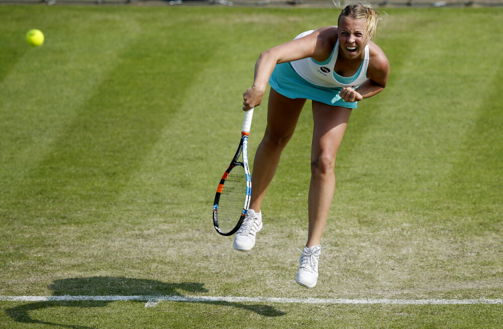 Tenniseekspert nimetas Kontaveidi kümne ohtlikuima Wimbledonis asetamata mängija hulka