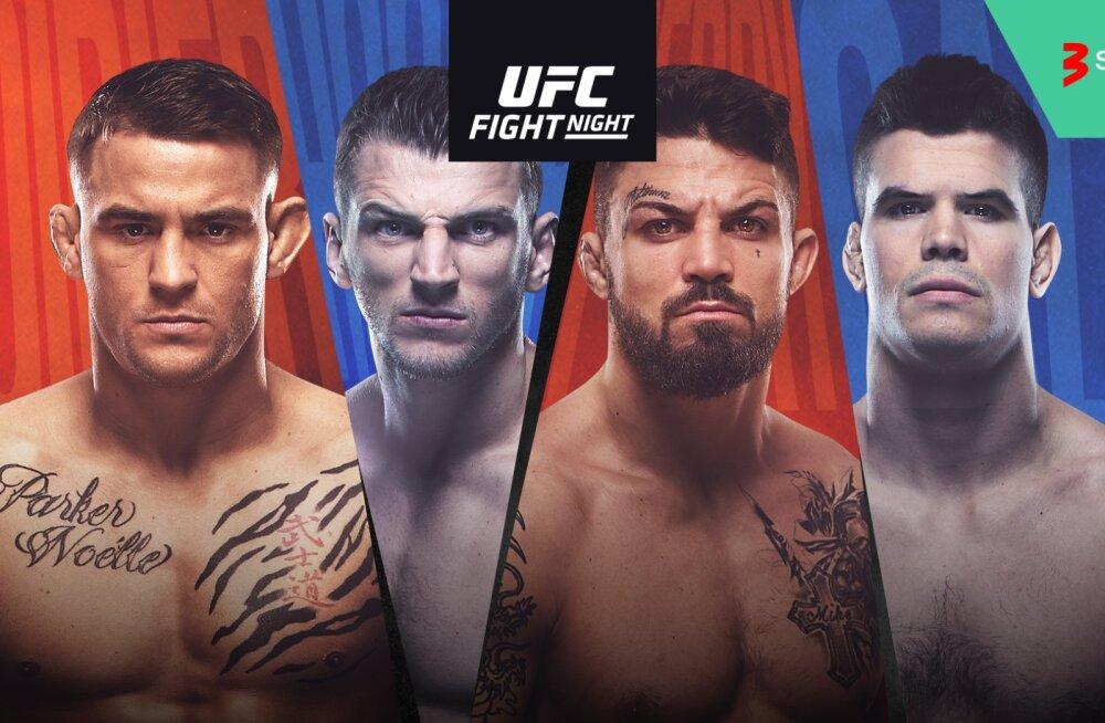 UFC võitlusõhtu osalejad