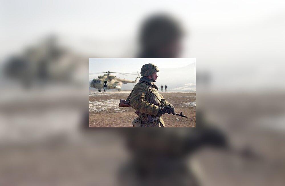Vene sõdur Tšetšeenias
