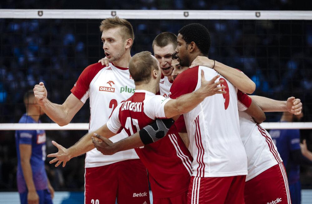 Poola võrkpallikoondis ei loovutanud Prantsusmaale ühtegi geimi ja teenis pronksi