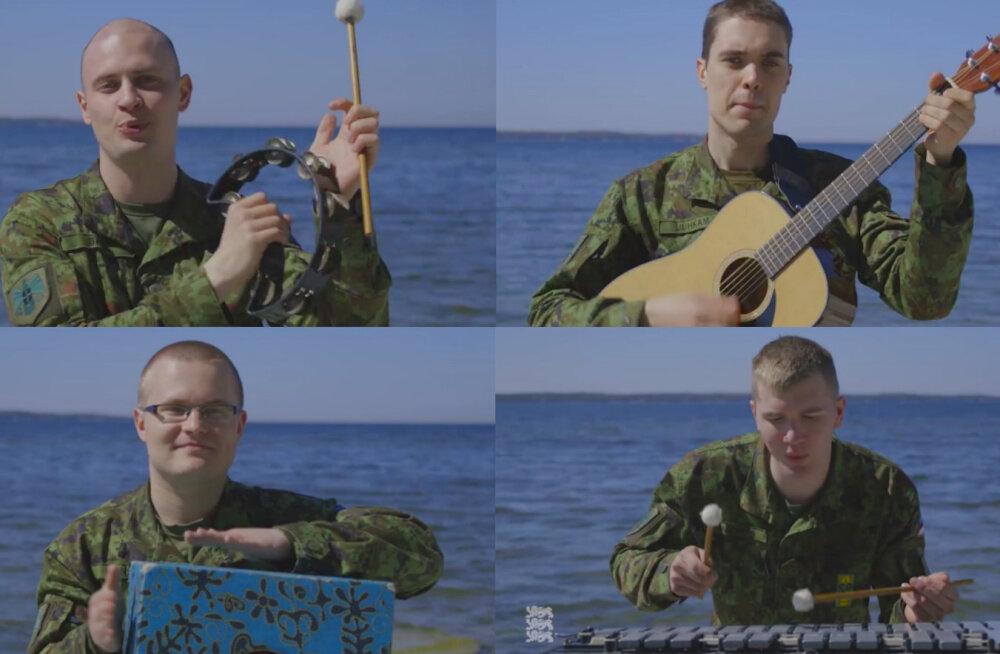 PÄEVA PÄIKE: Eesti kaitseväelaste andekas emadepäevakaver Ewerti ja draakonite loost lööb päeva särama ja toob õnnepisara silma