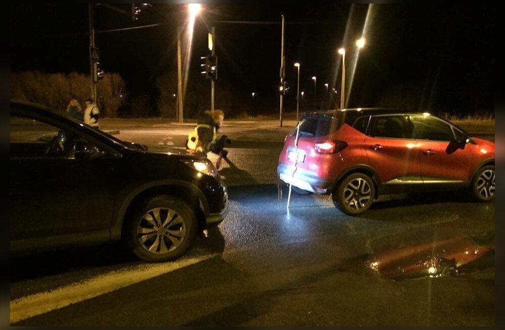 Avarii Narva maanteel