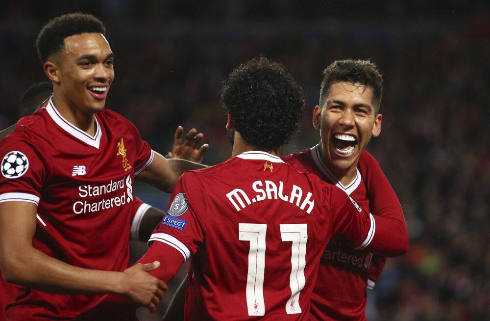 Liverpool ja Roma andsid panuse Meistrite liiga ajaloolisele hooajale