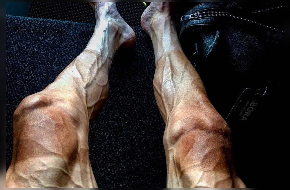 Pawel Poljanski väsinud jalad 16. etapi järel