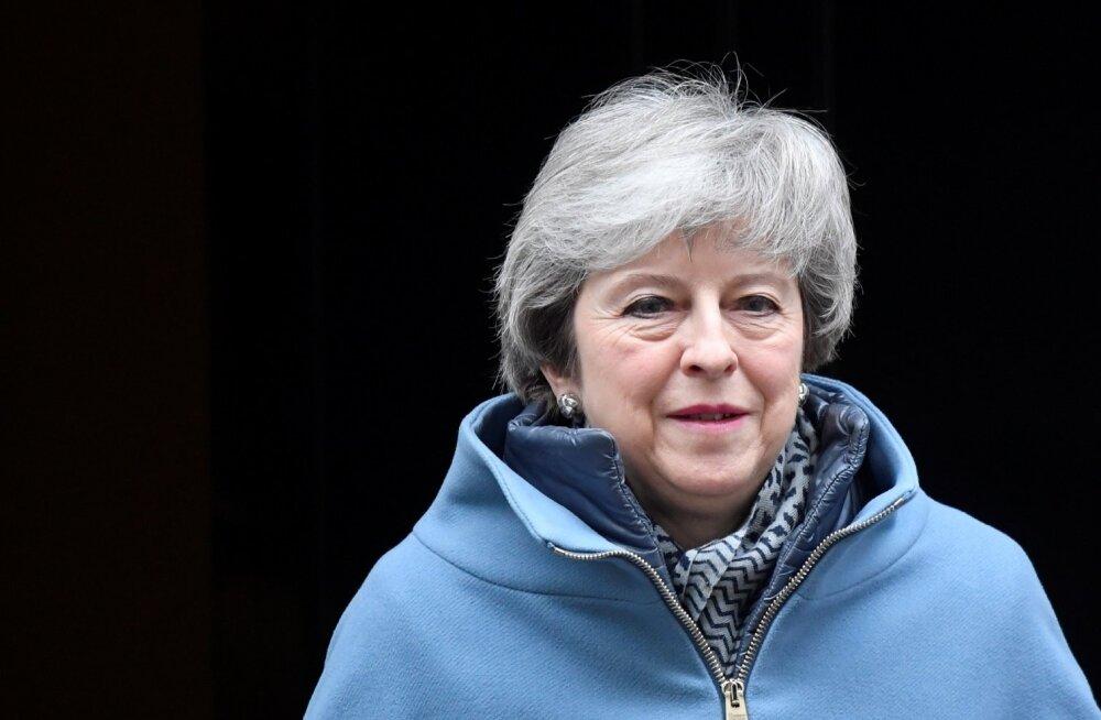 May: Suurbritannia ei pruugi EL-ist kunagi lahkuda, kui kokkulepe uuesti tagasi lükatakse