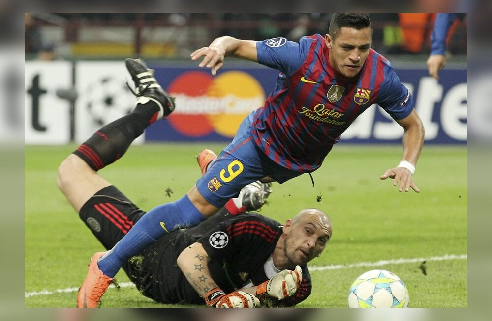 Alexis Sanchez, Barcelona, jalgpall