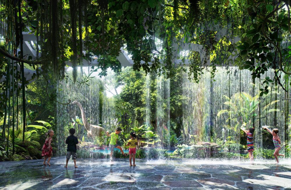 Kuhu siit veel edasi minna on - hotell ehitab endale siseruumidesse vihmametsa!