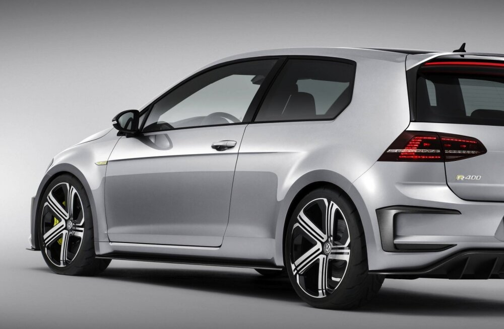 Kõlakas: Volkswageni kiire luukpära Golf R400 jõuab tootmisesse