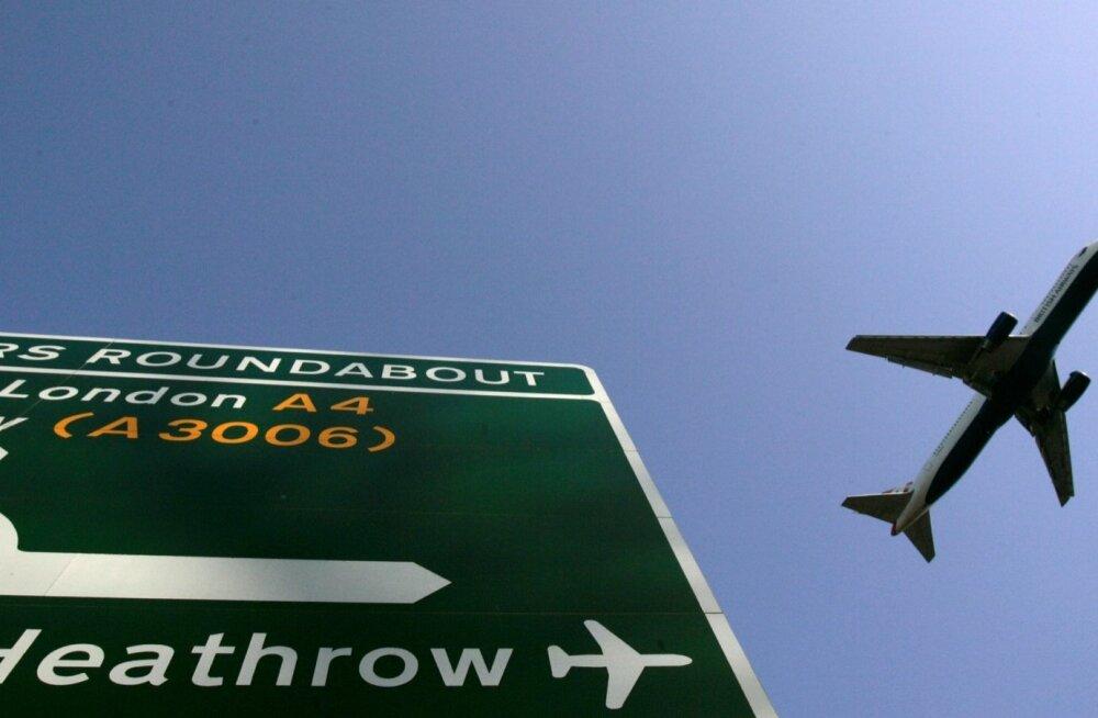 Heathrow lennujaam Londonis