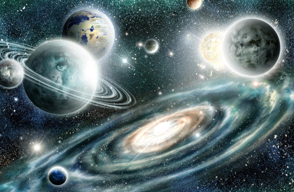 Päikesesüsteem võis tekkida galaktikate põrkest