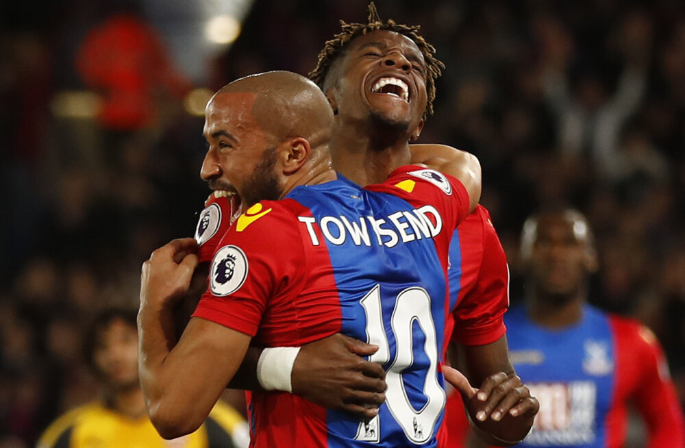 Crystal Palace`i mehed Andros Townsend ja Wilfried Zaha
