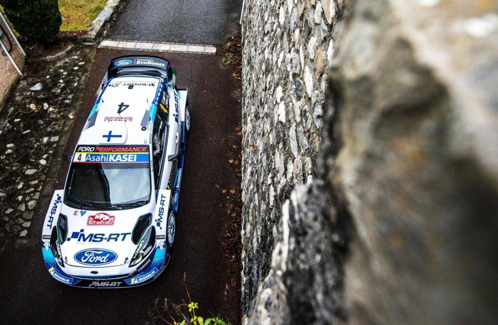 M-Sport jõudis Monte Carlo ralliga rekordilise tähiseni
