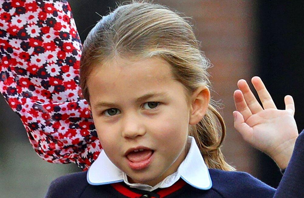 Põhjus, miks ei tohi printsess Charlottel uues koolis olla ühtegi parimat sõpra