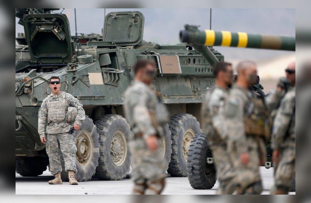 Kaitsevägi Eestisse saabuvatest USA tankidest ja masinatest: see on üks osa planeeritud heidutusmeetmetest
