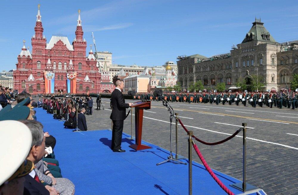 Putin: me ei luba läbi kriipsutada nõukogude rahva rolli võidus natsismi üle