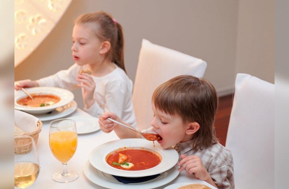 Naisteka lugejad soovitavad: 17 lapsesõbralikku restorani